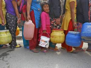 water line-up